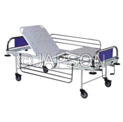 Full Fowler Bed with Stainless Steel Panel