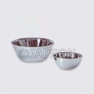 Gallipot with Lip, Stainless Steel