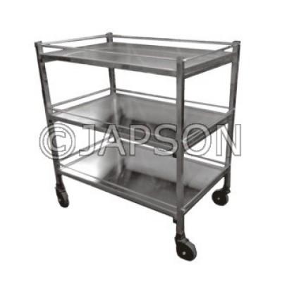 Instrument Trolley 3 Shelves