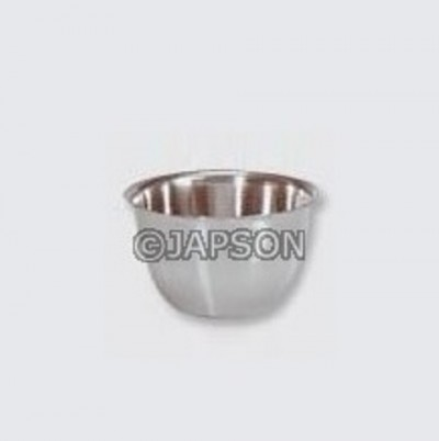 Iodine Cup, Stainless Steel