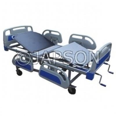 Manual ICU Bed - Super Deluxe Model