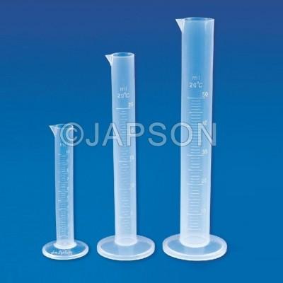 Measuring Cylinder, Round, TPX