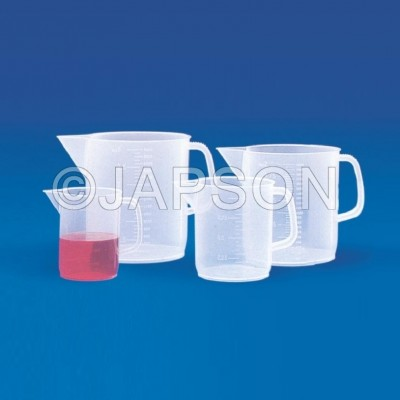 Measuring Jugs (Euro Design), Plastic