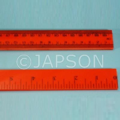 Meter Rule, Plastic