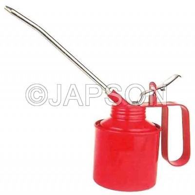 Oil Can, Tin Plate, Steel Pump