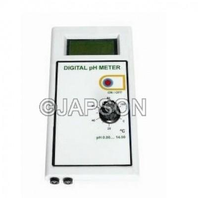 pH Meter, Digital, Portable