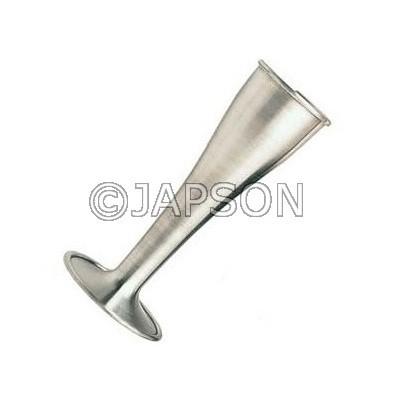 Pinard Stethoscope, Aluminium (Polished)