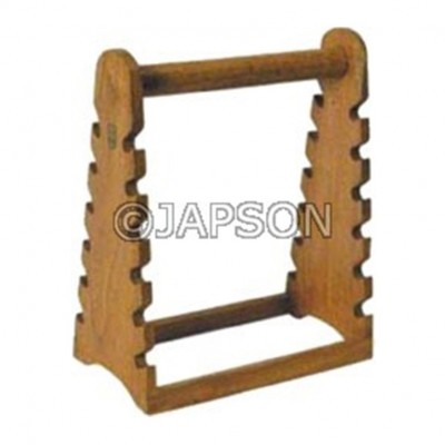 Pipette Stand, Horizontal, Wooden