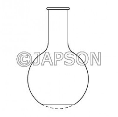Quartz Flask (Round Bottom / Flat Bottom)