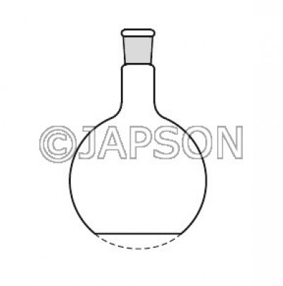 Quartz Flask (Round Bottom / Flat Bottom) with Socket