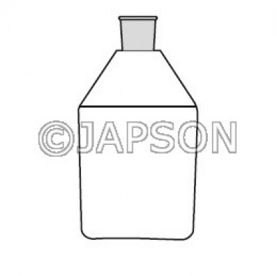 Quartz Reagent Bottle with Silicon Stopper