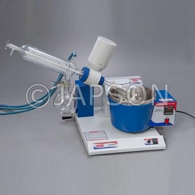 Rotary Vacuum Evaporator, Diagonal Condenser, Digital Temperature Control