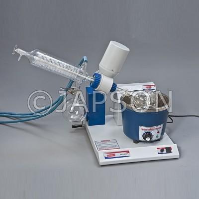Rotary Vacuum Evaporator, Diagonal Condenser, Thermostatic Temperature Control