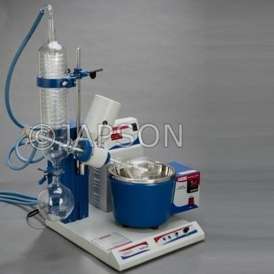 Rotary Vacuum Evaporator, Vertical Condenser