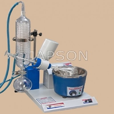 Rotary Vacuum Evaporator, Vertical Condenser, Thermostatic Temperature Control