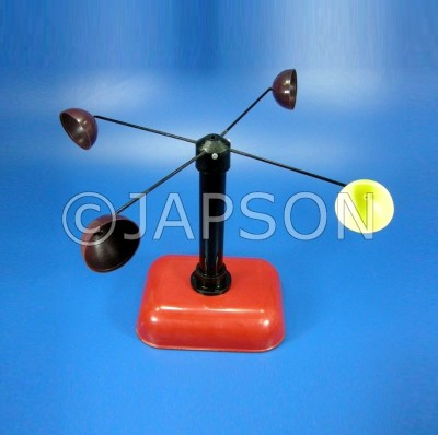 Simple Cup Anemometer