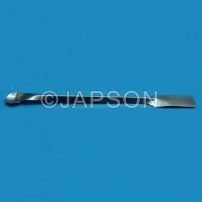 Spatula, Student, One Side Flat, One Side Spoon