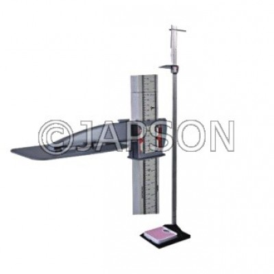 Stadiometer with Weighing Scale