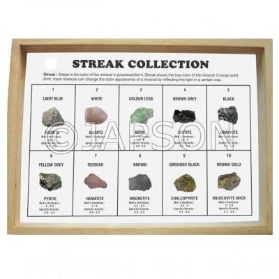 Streak Collection, Set of 10