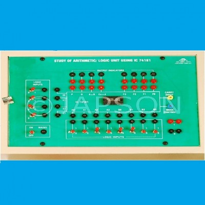 Study of Arithmatic Logic Unit (ALU) Experiment Apparatus