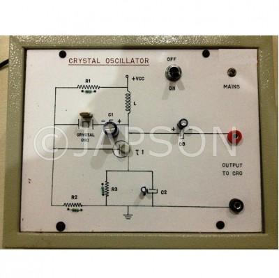 Study of Crystal Oscillator Experiment Apparatus