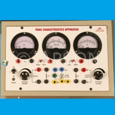 Triac Characteristics Apparatus