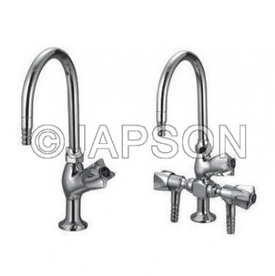 Water Tap, Swan Neck, Knobbed