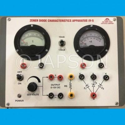 Zener Diode Characteristics Apparatus