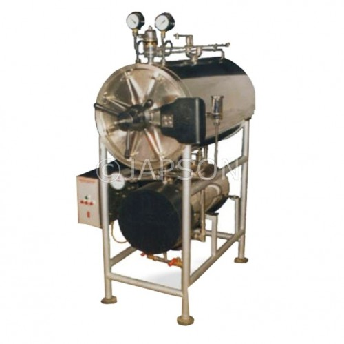 Autoclave, Horizontal, Cylindrical, Triple Wall