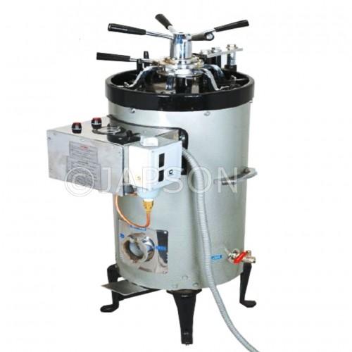 Autoclave, Triple Wall, Vertical, High Pressure, Radial Locking