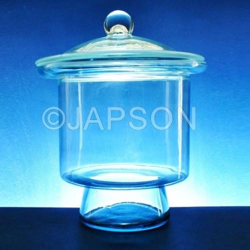 Dessicator, Clear Glass