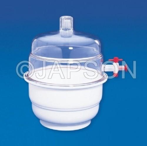 Dessicator (Vaccum), Plastic