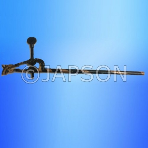 Four Prong, Retort Clamp, Copper Oxidized