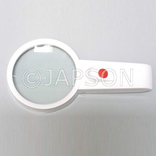 Hand Magnifier/Lens with Light/Illumination