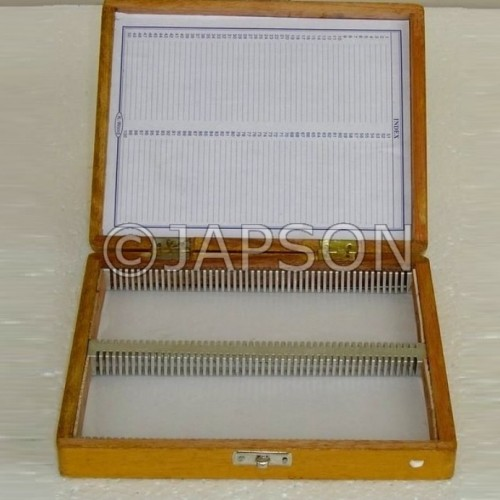 Microscope Slide Box, Wooden