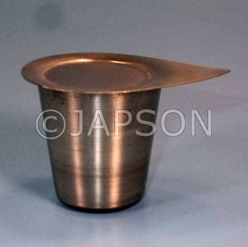 Crucible, Stainless Steel