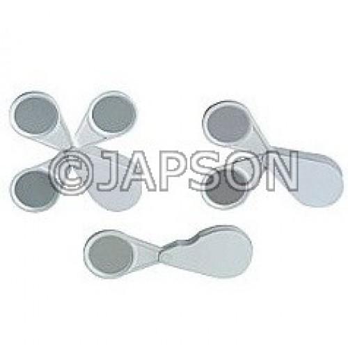 Pocket/Folding Magnifier, All Plastic
