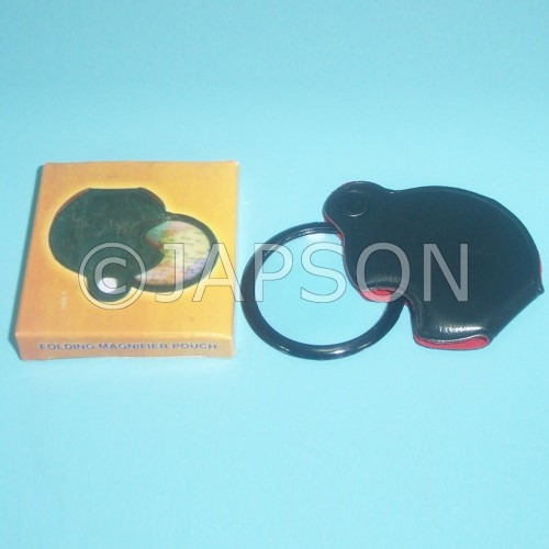 Pocket Magnifier 4x with Cover