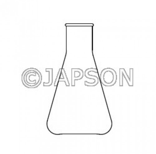 Quartz Flask Conical (Erlenmeyer)