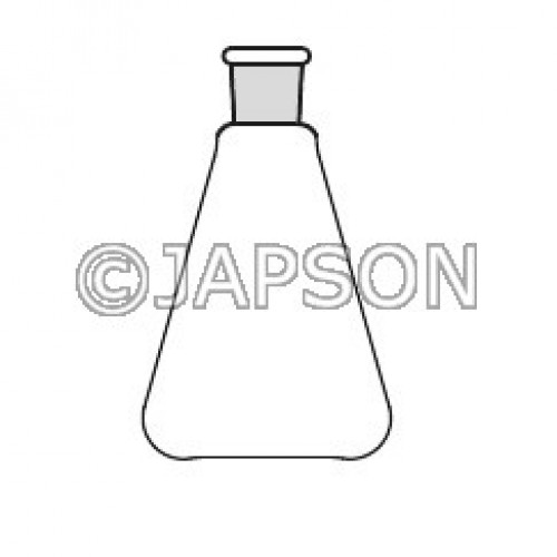 Quartz Flask Conical with Socket (Erlenmeyer)