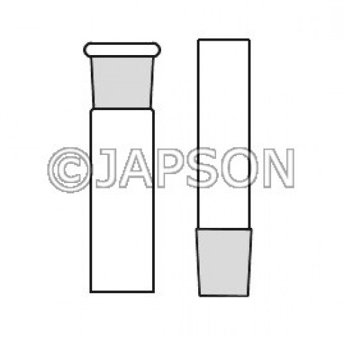 Quartz Standard Ground Joints, Sockets or Cone