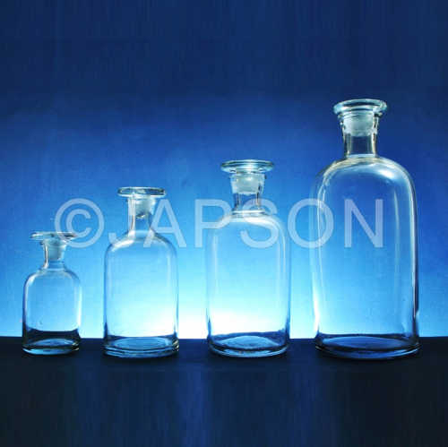 Reagent Bottle, Narrow Mouth (Clear Glass)