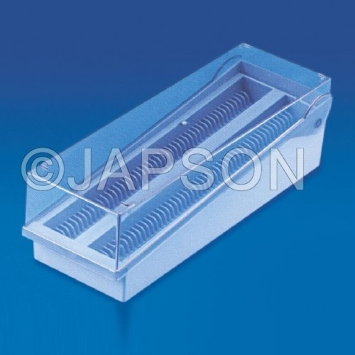 Slide Storage Rack, Plastic