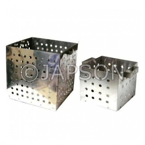 Test Tube Basket, Aluminium/Stainless Steel