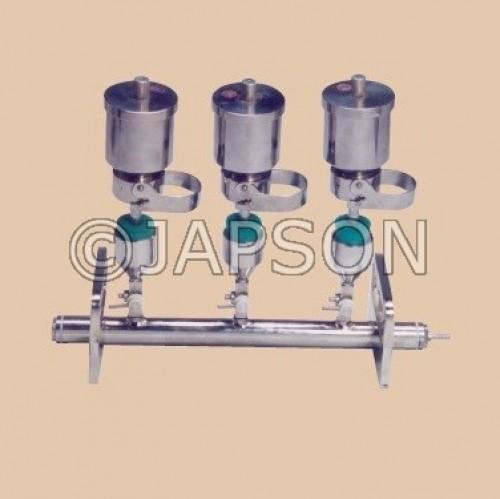 Vacuum Filter Holder, Manifold type, for Sterility Test