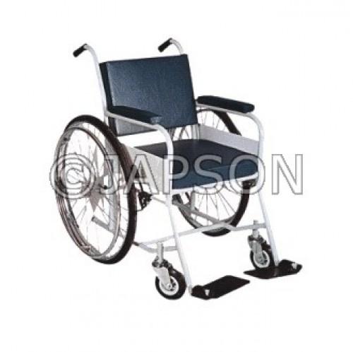 Wheel Chair with Cushion Seat